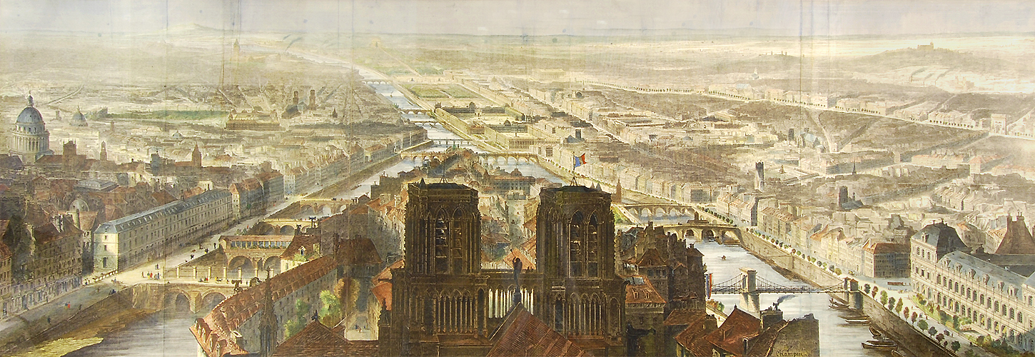 Paris Panorama 1850