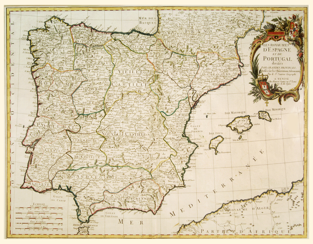 Spain And Portugal C1760