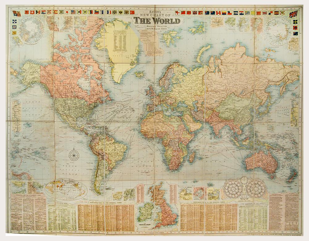 World, Bacon, c1907
