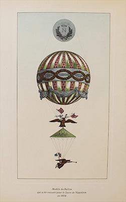 Hot Air Balloon Napoleon S Coronation C1950
