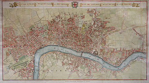 Westminster And Southwark Van Baarsel C1765